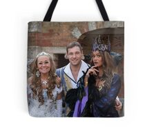 Sonia, Marc Baylis and Zoe Birkett in Sleeping Beauty Tote Bag