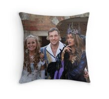 Sonia, Marc Baylis and Zoe Birkett in Sleeping Beauty Throw Pillow