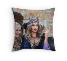 Sonia and Zoe Birkett in Sleeping Beauty Throw Pillow