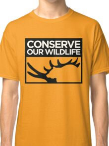 Conserve Our Wildlife Classic T-Shirt