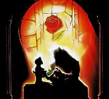 Beauty and The Beast Glass- Disney by Mellark90