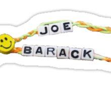 Joe and Barack Friendship Bracelets Sticker