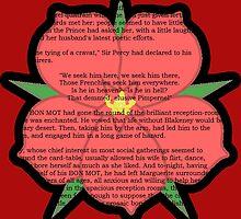 Scarlet Pimpernel - Sir Percy Blakeney's Poem by BagChemistry