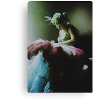 Burlesque Dreams Canvas Print