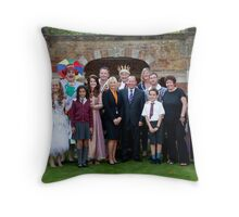 The cast of Sleeping Beauty Throw Pillow