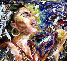 She sang the blues by amoxes