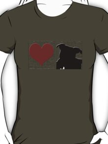 Love Staffy Dog T-Shirt