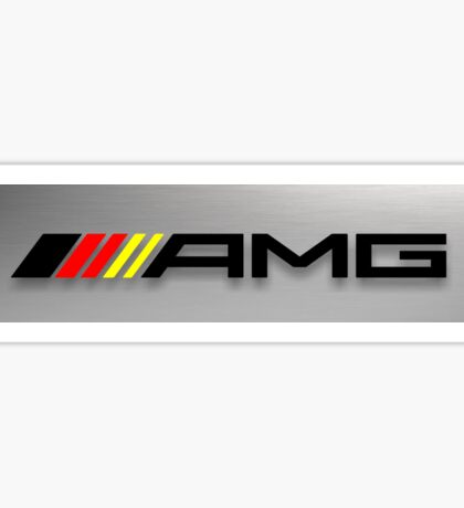 AMG Germany flag Sticker