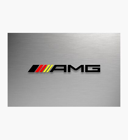 AMG Germany flag Photographic Print