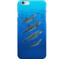 Custom Marine Mammal Design iPhone Case/Skin