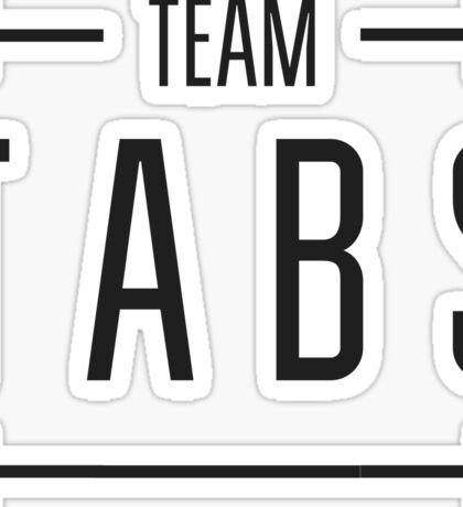 Team Tabs Sticker