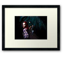 Running from the Light Framed Print
