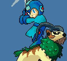 Go-Goat and Mega Man by Sam Smith
