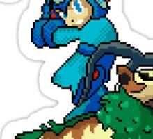 Go-Goat and Mega Man Sticker