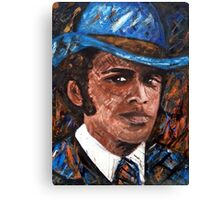 """Bumpy"" Johnson Canvas Print"