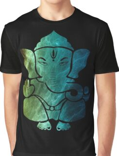 Space Ganesh Graphic T-Shirt