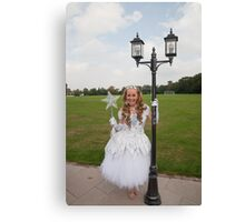 Pop idol Sonia as the good fairy in Sleeping Beauty Canvas Print
