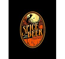 Spice Beer Photographic Print