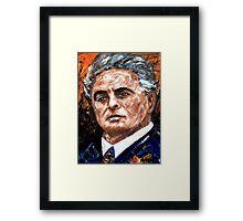 John Joseph Gotti. Framed Print
