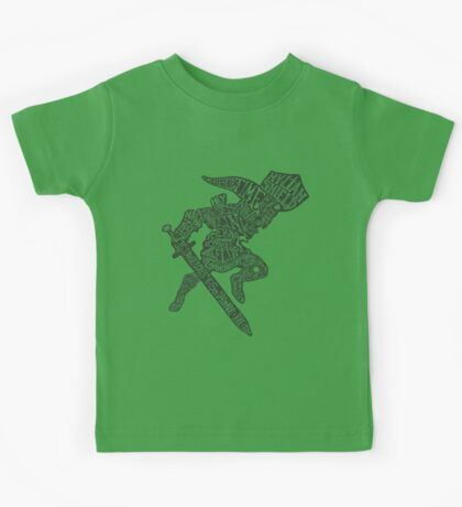 A Hylian Hero Kids Tee