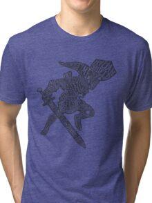 A Hylian Hero Tri-blend T-Shirt