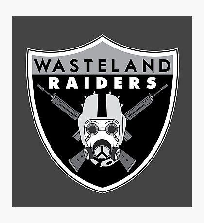 Wasteland Raiders Photographic Print
