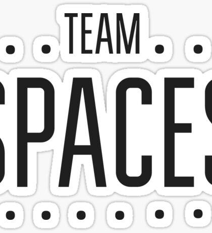 Team Space Sticker
