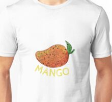 Mango Juicy Fruit Mandala  Unisex T-Shirt