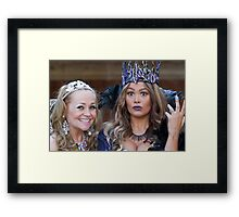 Pop Idol Sonia and Zoe Birkett in Sleeping Beauty Framed Print