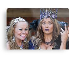 Pop Idol Sonia and Zoe Birkett in Sleeping Beauty Metal Print