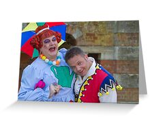 Bobby Crush and Jamie Rickers in Sleeping Beauty Greeting Card