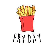 Fry Day Photographic Print