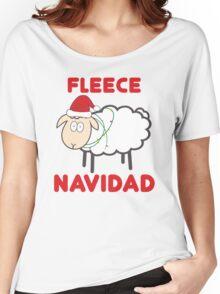 Fleece Navidad - Christmas Shirt Women's Relaxed Fit T-Shirt