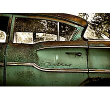 Abandoned 1958 Chevy Delray Photographic Print