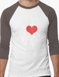 I Heart Vice City Men's Baseball ¾ T-Shirt