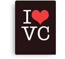I Heart Vice City Canvas Print
