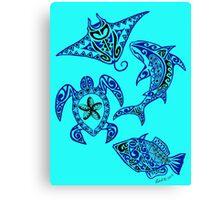 Hawaiian Sealife Canvas Print