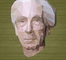 Bertrand Russell (Low-Polygonal) by taudalpoi