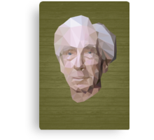 Bertrand Russell (Low-Polygonal) Canvas Print