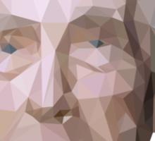 Bertrand Russell (Low-Polygonal) Sticker