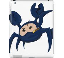 Blu Spycrab iPad Case/Skin