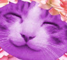 """""""Softest of Grunge"""" Kitty Sticker"""