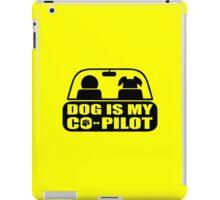 Dog-Co-Pilot-Puppy-Funny iPad Case/Skin