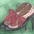 Polka Dot Shoes! by RobynLee