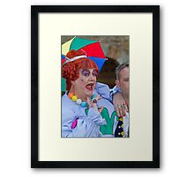 Bobby Crush  in Sleeping Beauty Framed Print