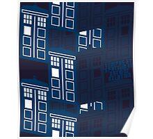 LATIN TARDIS Poster