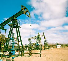 Oil and gas industry. by bashta