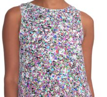 Speckled Colors Contrast Tank