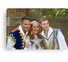 Jamie Rickers, Pop idol Sonia and Marc Baylis in Sleeping Beauty Metal Print