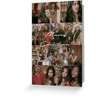 Fifth Harmony Christmas Card Greeting Card